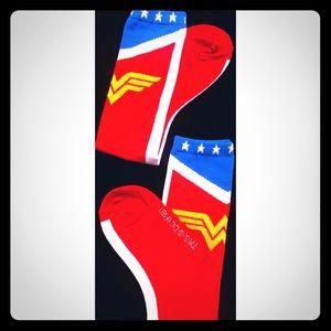 Wonder Woman socks for cosplay or costume